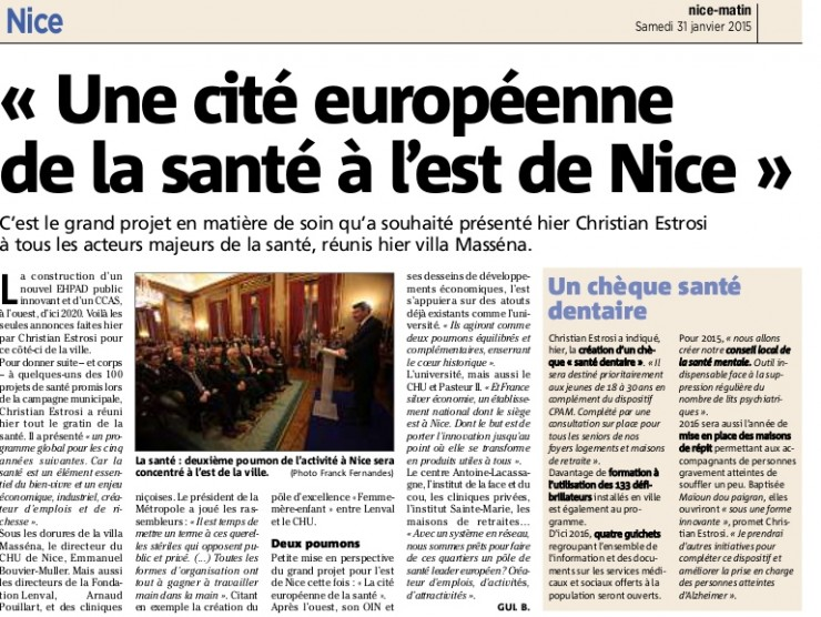 article Nice Matin 310115 (2)