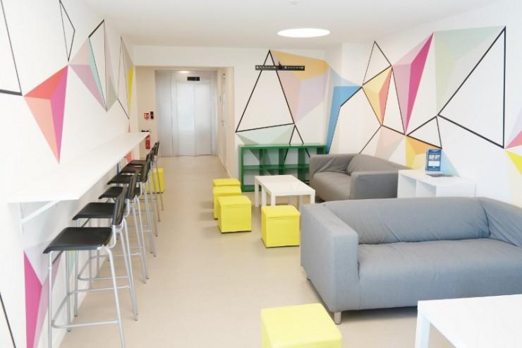 salon commun Résidence Etudiants Saint François
