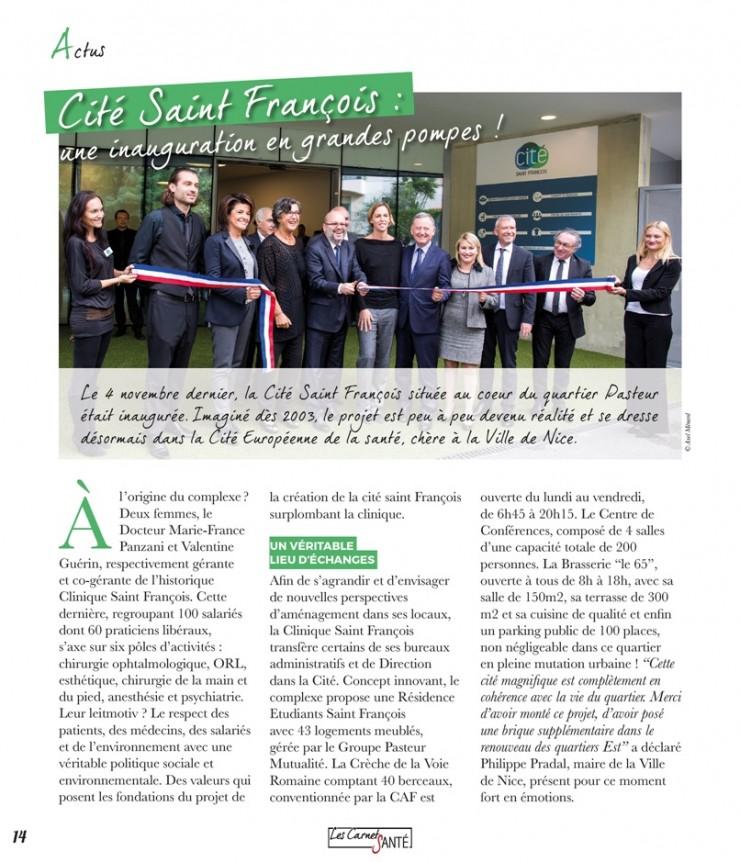 Inaugurtion Cité- carnet de Santé- LCS 12